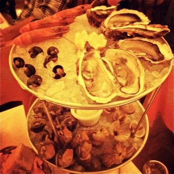 Seafood at Brasserie Zedel