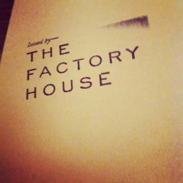 The Factory House