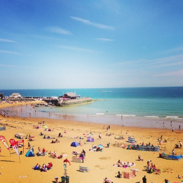 Broadstairs beach, Kent